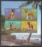 Таиланд 2006 год. Собаки, блок (344.2460)