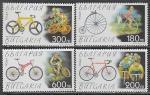 Болгария 1999 год. Велосипеды, 4 марки (н