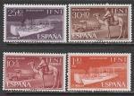 Ифни (Марокко) 1961 год. День почтовой марки. Транспортные средства, 4 марки (н