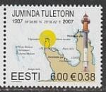 Эстония 2007 год. Маяк Юминда, 1 марка (н