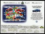 """Сан-Марино 1997 год. Автопроизводитель """"Фольксваген"""", блок (н"""
