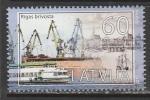Латвия 2011 год. Фрипорт Риги, 1 марка (н