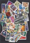 Набор иностранных марок, космос, 40 гашеных марок