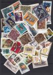 Набор иностранных марок, искусство, 40 гашеных марок