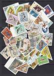 Набор иностранных марок, фауна, 40 гашеных марок