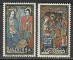 Андорра (Исп. почта) 1978 год. Рождество, 2 марки