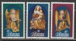 Лихтенштейн 1982 год. Рождество, 3 марки