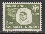 Гренландия 1979 год. Международный год ребёнка, 1 марка