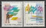Финляндия 1983 год. Международный год связи, 2 марки