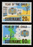 Суринам 1979 год. Международный год детей, 2 марки