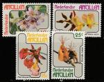 Нидерландские Антильские острова 1978 год. Цветы, 4 марки