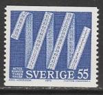 Швеция 1975 год. 100 лет Международной метрической конвенции, 1 марка
