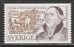 Швеция 1975 год. 200 лет шведской ветеринарии, 1 марка