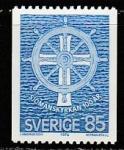 Швеция 1976 год. 100 лет Шведской матросской миссии, 1 марка