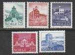 Норвегия 1982 год. Архитектура, 5 марок