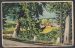 Почтовая карточка прошла почту 1936 год. Эстония
