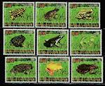 Кот дИвуар 2009 год. Земноводные, 9 марок