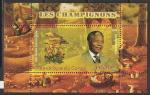 Конго 2009 год. Президент ЮАР Нельсон Мандела. Грибы, блок