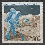 """Мали 1973 год. """"Аполлон-17"""". Астронавты на Луне, 1 марка"""