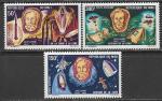 Мали 1970 год. Жюль Верн и космонавтика, 3 марки