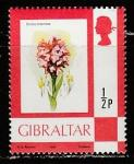 Гибралтар 1982 год. Флора. Неотиния трёхзубчатая, 1 марка