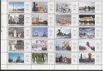 Россия 2003 год. К 300 - летию Санкт-Петербурга, лист из 20 рекламных марок
