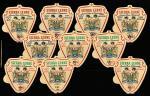 Сьерра-Леоне 1968 год. Летние Олимпийские игры в Мехико, 10 самоклеящихся марок