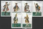 Гвинея 1997 год. Прусская форма XVIII века, 6 марок