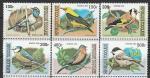 Того 1999 год. Певчие птицы, 6 марок