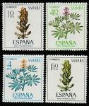 Испанская Сахара 1967 год. Флора, 4 марки