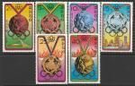 КНДР 1976 год. Страны - призёры летних Олимпийских игр в Монреале, 6 марок