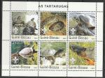 Гвинея-Бисау 2003 год. Черепахи, малый лист