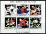 Гвинея-Бисау 2003 год. Летние Олимпийские игры 2004 года в Афинах, малый лист