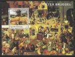 Гвинея-Бисау 2003 год. Живопись нидерландского художника Питера Брейгеля, блок