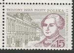 Польша 1987 год. Игнацы Францишек Пржебендовский, генеральный почтмейстер, 1 марка
