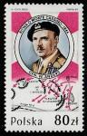 Польша 1989 год. II Мировая война. Генерал Владислав Андерс, 1 марка