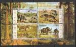 Малави 2010 год. Динозавры, малый лист.