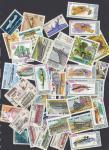 Набор иностранных марок, транспорт, 40 гашеных марок