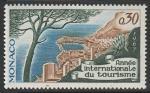 Монако 1967 год. Международный год туризма, 1 марка.