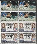 Монако 1970 год. Первая годовщина пилотируемого полёта на Луну, 2 квартблока.