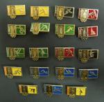 Набор значков. Олимпиада-80. 19 значков
