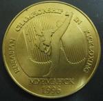 Медаль. Евразийские соревнования по кикбоксингу. Мурманск 1996