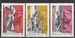 СССР 1972 г, 50 лет Освобождения Дальнего Востока, серия 3 марки