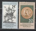 ГДР 1960 год, Дрезденский Музей, 2 марки