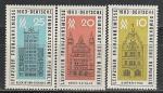 ГДР 1963, Лейпц.Ярмарка, Здания, 3 марки