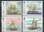 Гибралтар 2006, Парусники, 4 марки*