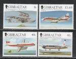 Гибралтар 2006, Самолеты, 4 марки*