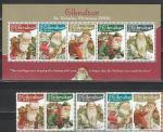 Гибралтар 2006 год, Новый Год, 5 марок+блок.