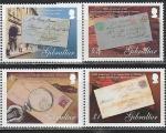 Гибралтар 2007 год, Почта, Письма, 4 марки.