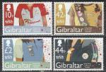 Гибралтар 2010 год, Скаутское Движение, 4 марки.